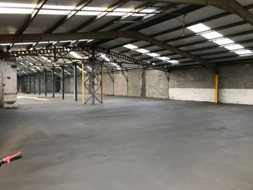 Industrial Concrete Flooring