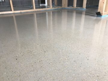 Self Compacting Polished Concrete