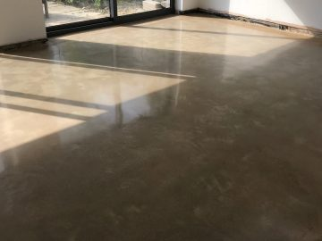 Industrial/Rustic Polished Concrete
