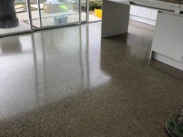 Polished Concrete Home Renovation