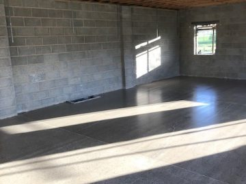 Barn Conversion Polished Concrete