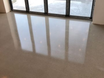 Commercial Screed Polishing
