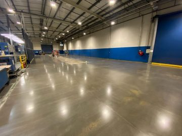 Industrial Concrete Polished Floor