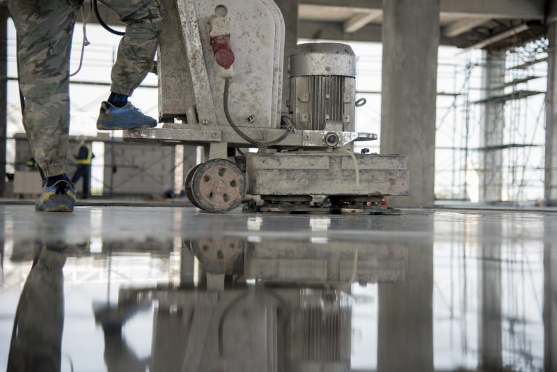Keeping Concrete Floors Looking Polished